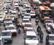 24 hour Bangkok traffic